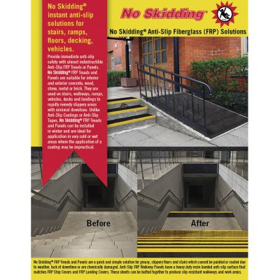 NoSkidding Anti Slip Fiberglass Solutions FRP